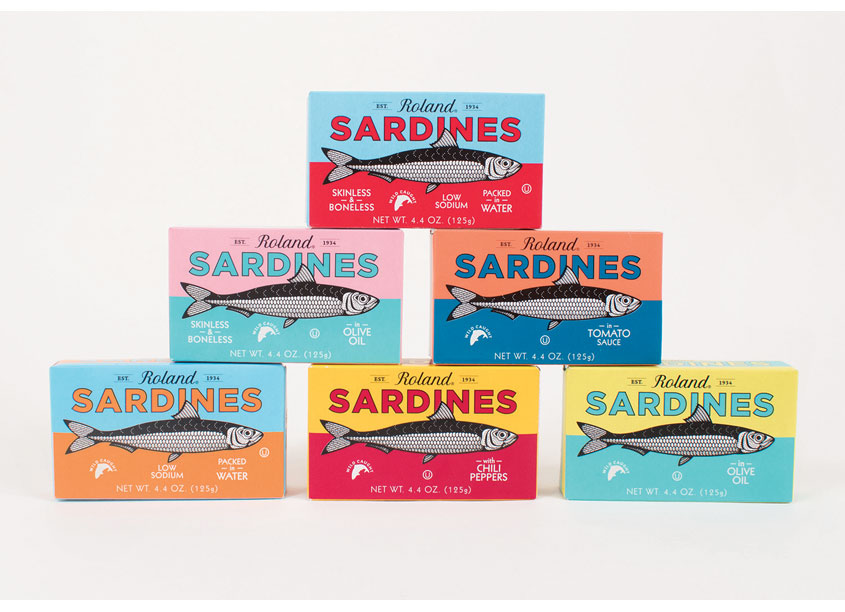 Roland® Sardines Line Package Redesign by Roland Foods, LLC - Creative Department