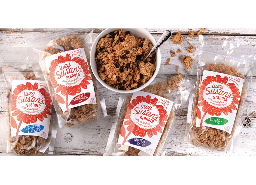 Lazy Susan's Granola by Smith Design