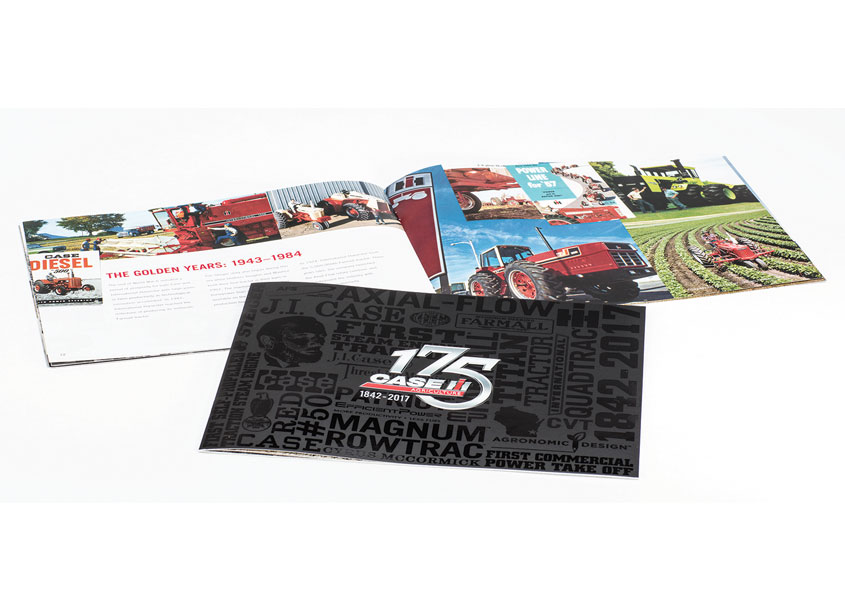 Equity Creative  Case IH 175th Anniversary Brochure Executive