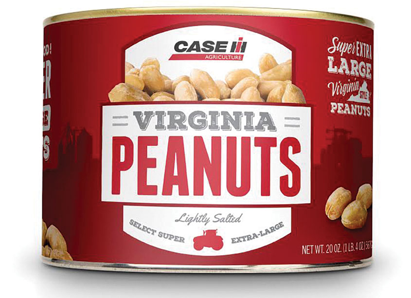 Equity Creative  Case IH Virginia Peanuts Packaging