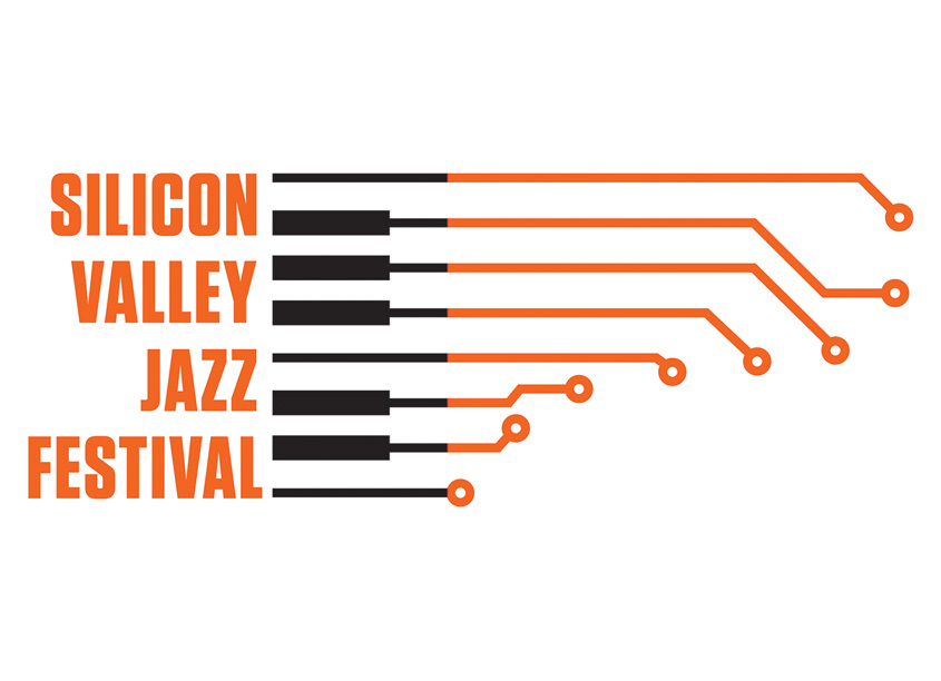 Silicon Valley Jazz Festival Logo by Cherry-pick Marketing