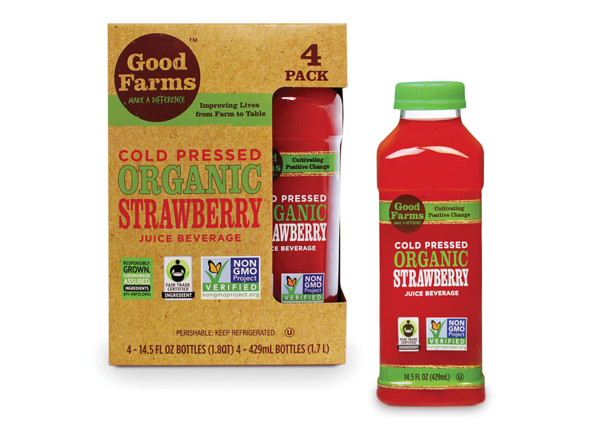 The Creative Pack LLC  Strawberry Juice 4 Pack