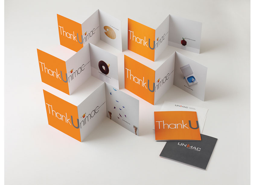Unimac Thank U Card Series 2 by Bonavita Design LLC