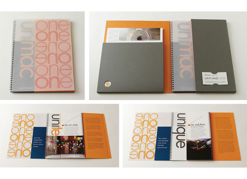 Unimac Promotional Folder and Brochure by Bonavita Design LLC
