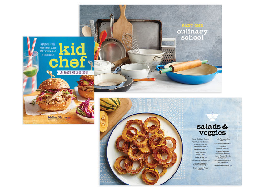 Callisto Media Kid Chef Book Design