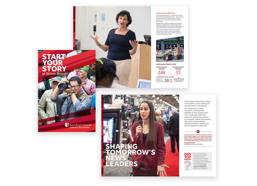 Stony Brook University Office of Communications and Marketing Recruitment Brochure