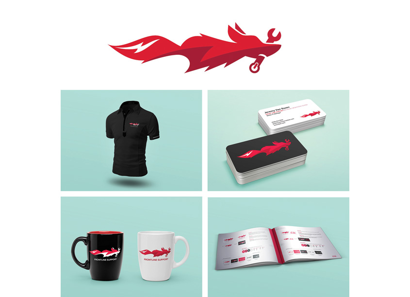 Frontline Support Identity by OneTen Creative/DISH Network