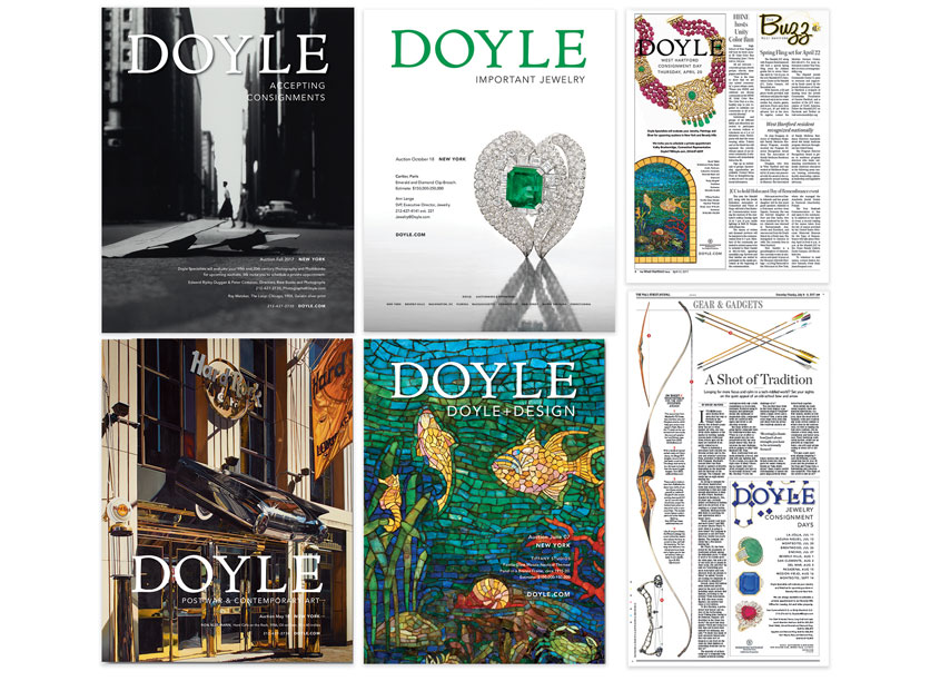 Doyle New York: Print Advertising by Doyle