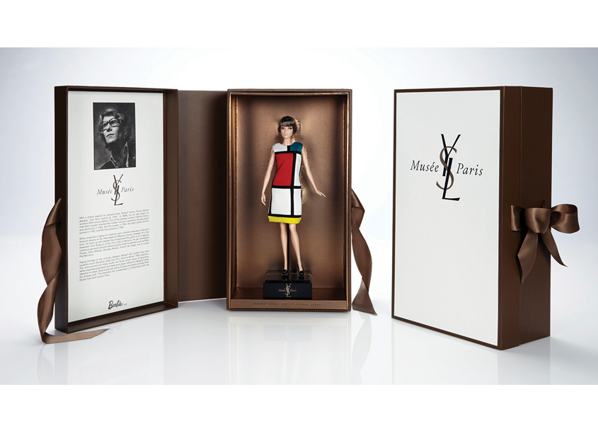 Yves Saint Laurent Barbie® Doll by Mattel, Inc.