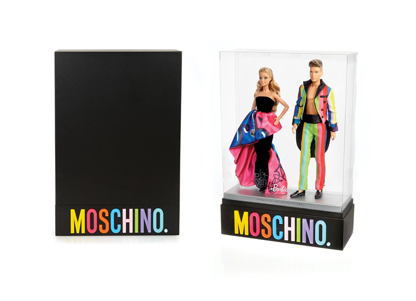 MOSCHINO® Barbie® and Ken® Dolls by Mattel, Inc.