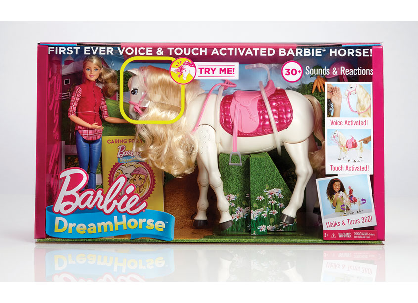 Barbie® DreamHorse™ by Mattel, Inc.