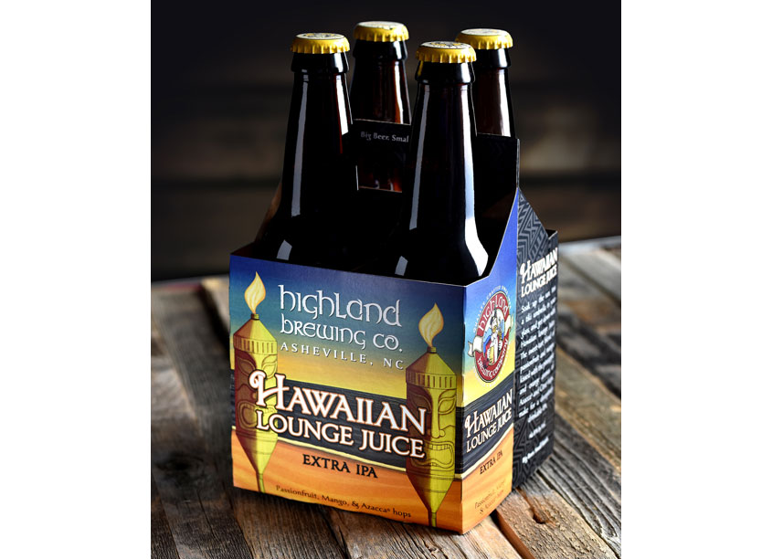 Hawaiian Lounge Juice by CraftBeerBranding.com