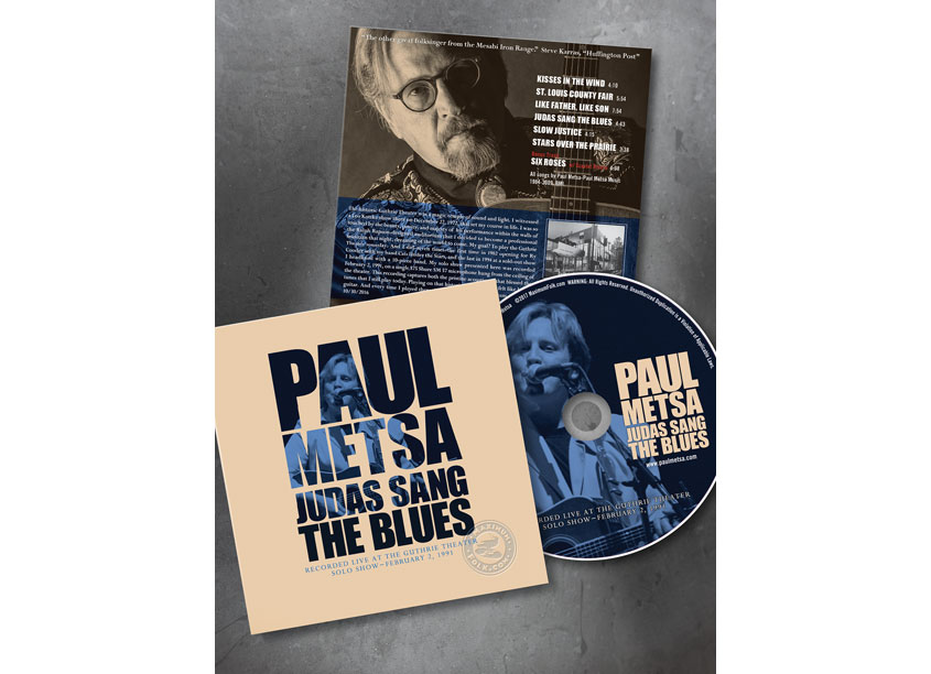 Paul Mesta CD Mini Sleeve by Visual Harmony
