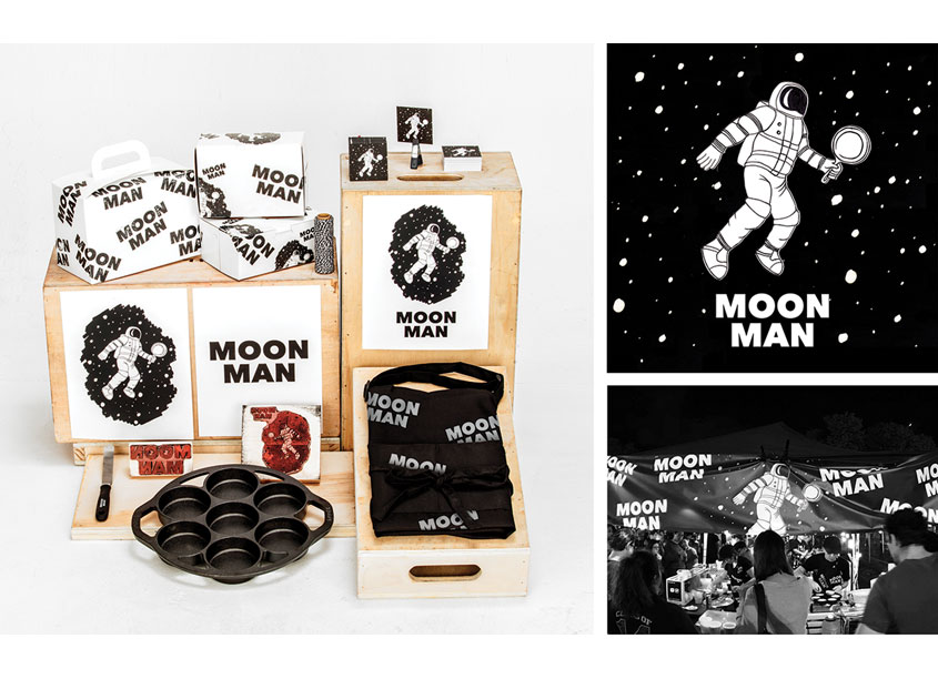 Moon Man Branding by Corse Design Factory