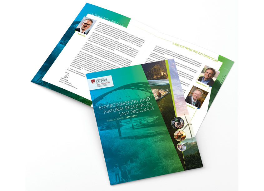 Environmental and Natural Resources Law Annual Report by Design Tree Studios