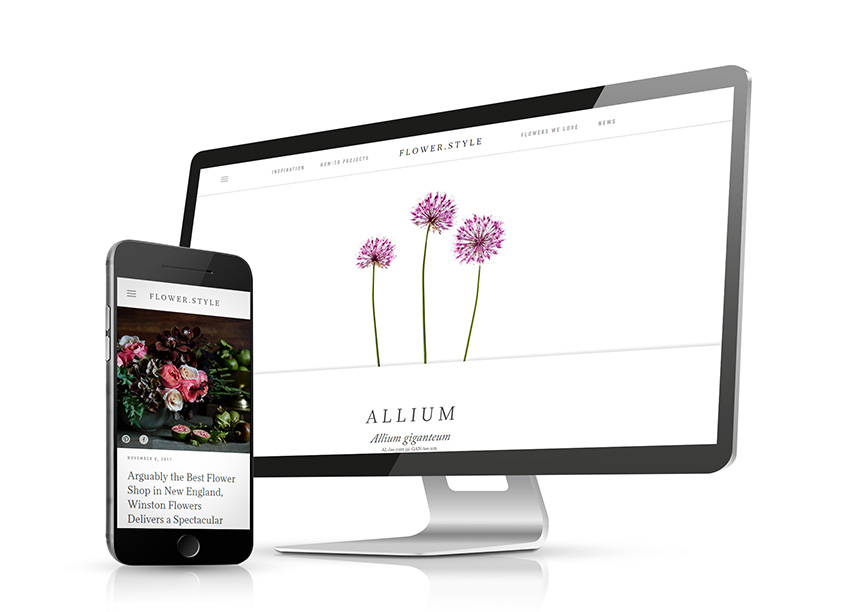 Flower.Style Website by Imagemakers, Inc.