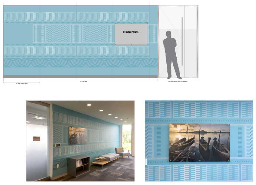 National Institutes of Health Medical Arts NIAID Global Reach Office Environmental Graphics