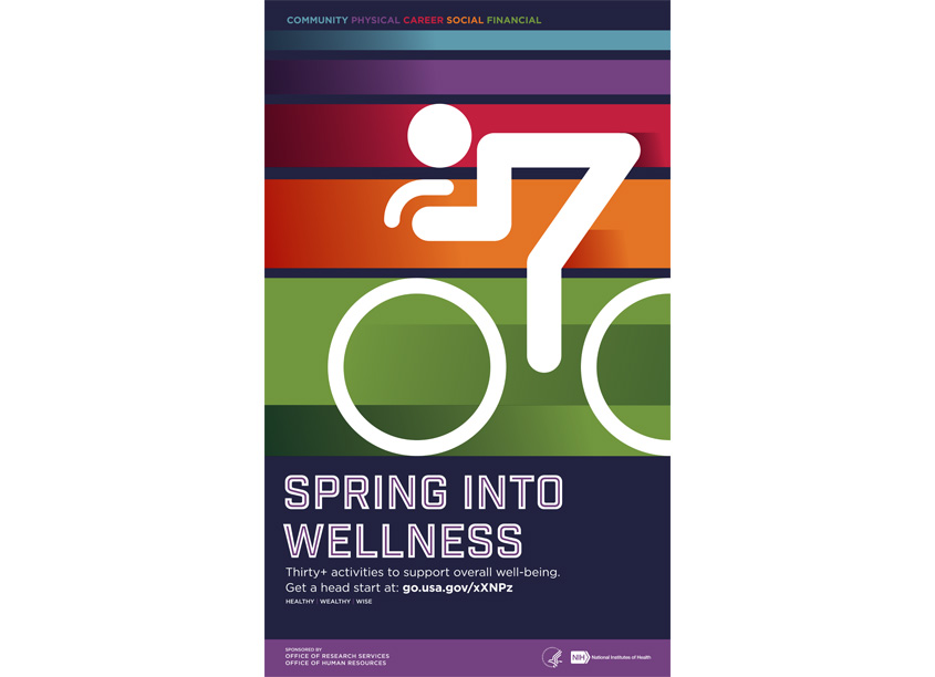 National Institutes of Health Medical Arts Spring Into Wellness