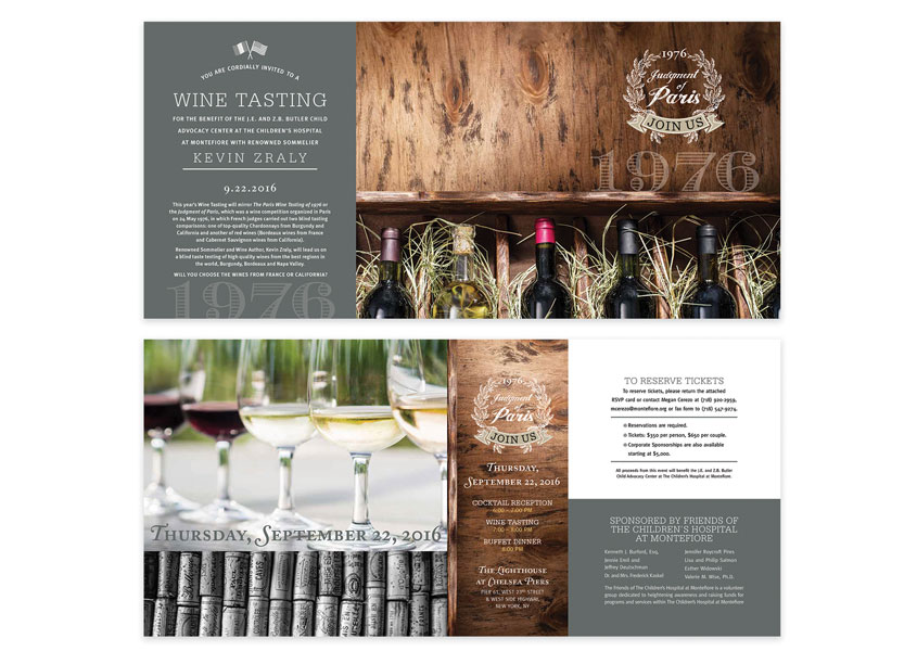 Wine Tasting Invitation by Roycroft Design