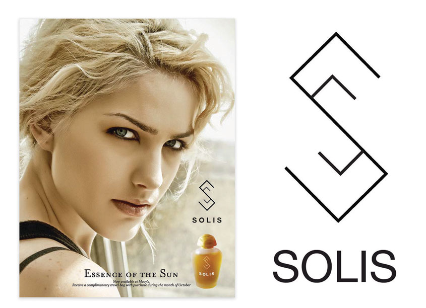 Solis Perfume Branding by Kennesaw State University