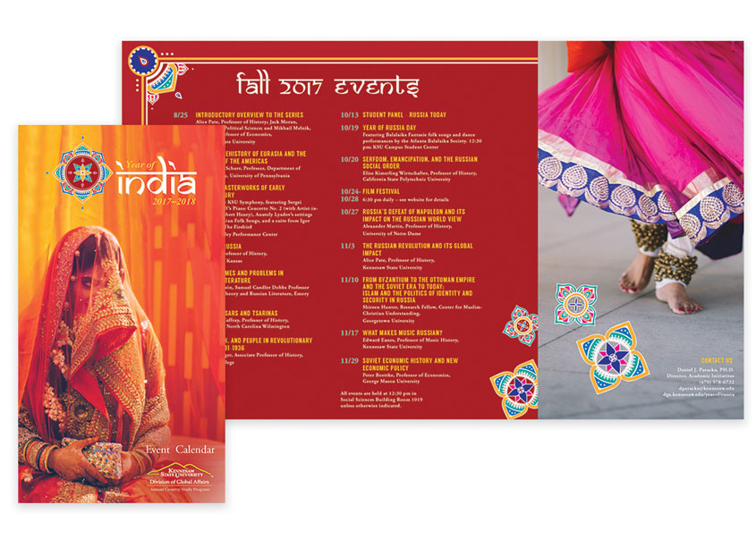 Kennesaw State University Year of India Brochure