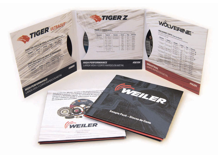 Bonded Abrasives Sample Kit by Weiler Abrasives