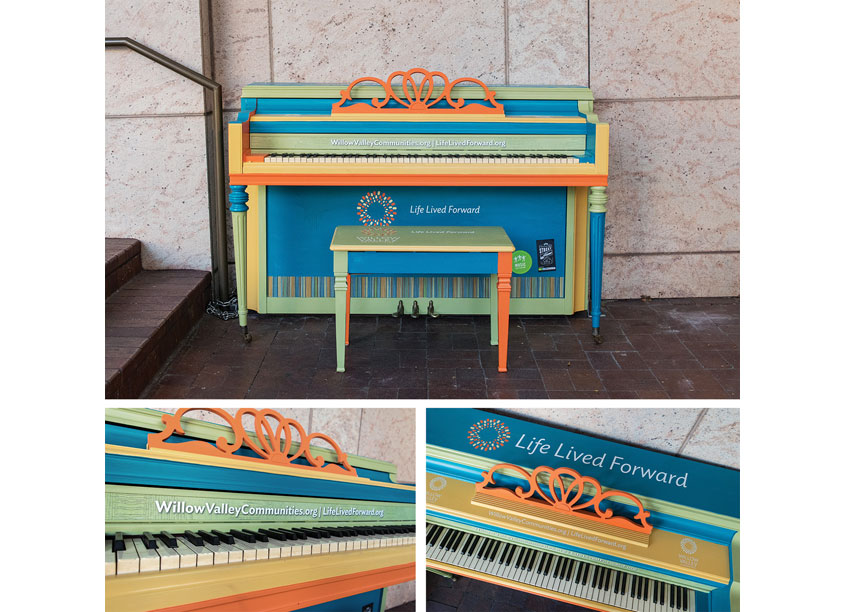 Keys for the City Piano 2017 by Willow Valley Communities