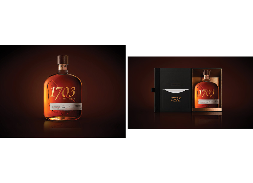 Mount Gay Rum, 1703 Master Select Art Direction and by Dragon Rouge