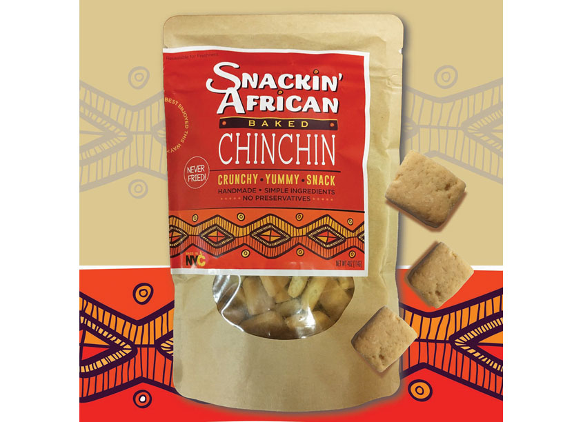 Snackin' African Baked Chinchin by Hudson Valley Graphic Design, LLC