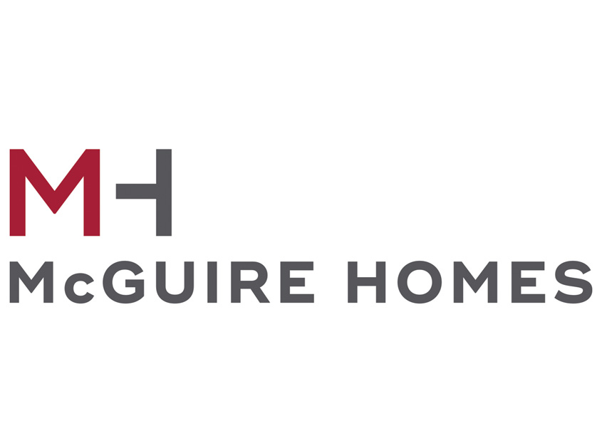 j.riley creative LLC  McGuire Homes Logo Design