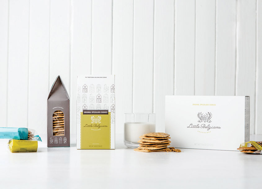 Design Womb  Little Belgians Packaging
