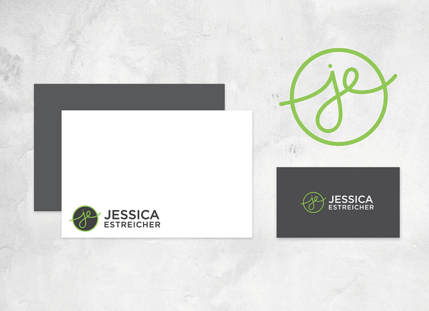Jessica Estreicher Branding by 7 Layer Studio