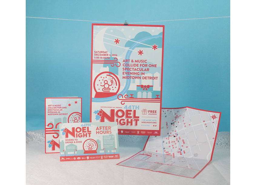 Trent Creative  Noel Night Brochures and Collateral