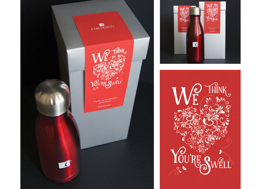 We Think You're Swell Gift Promotion by COE Design