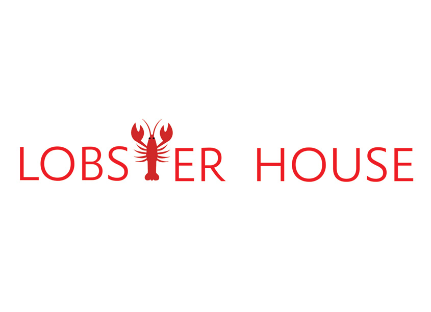 Lobster House Logo Design by Bonnie Segal Design