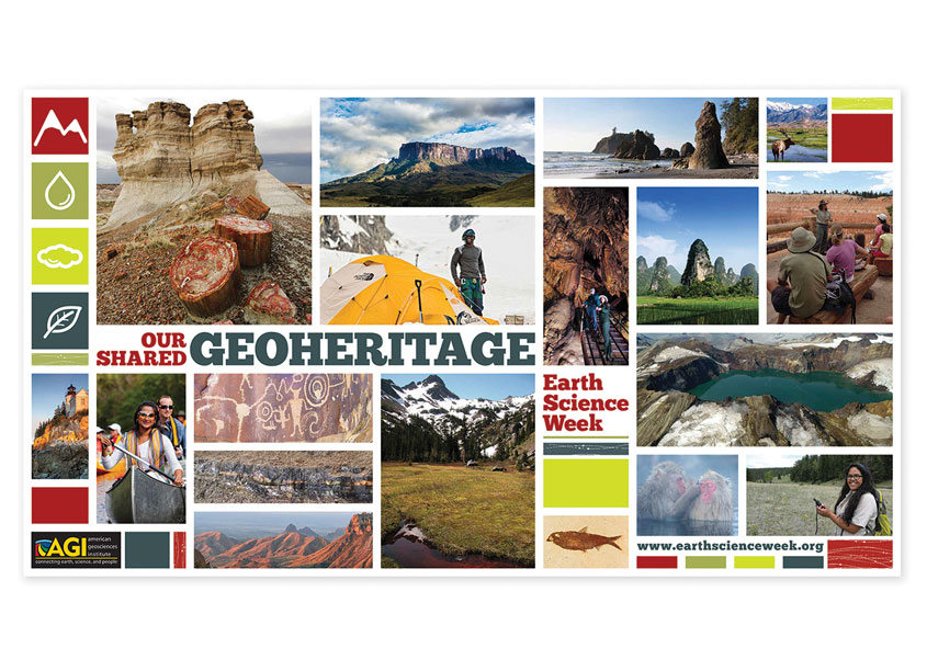 Angela Terry Design 2016 Earth Science Week: Our Shared Geoheritage