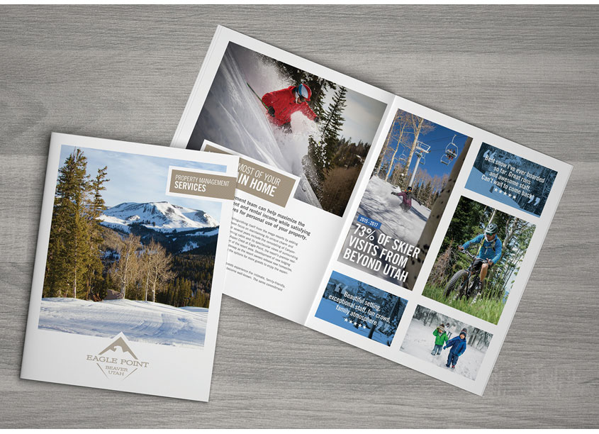 Jensen Creative Studio  Eagle Point Property Brochure