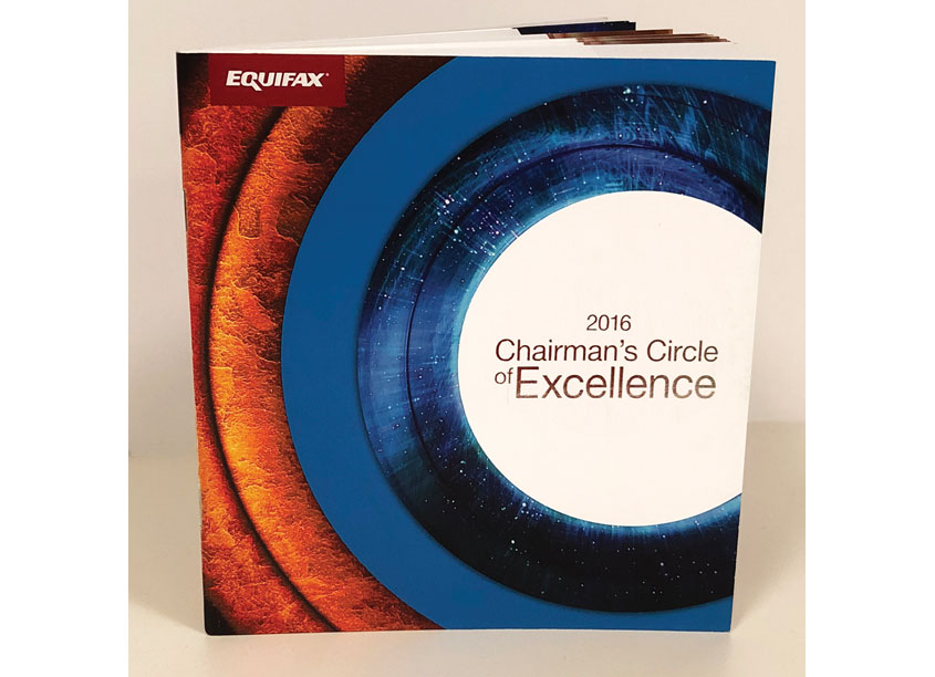 Equifax Inc.  2016 Chairman's Circle of Excellence Booklet