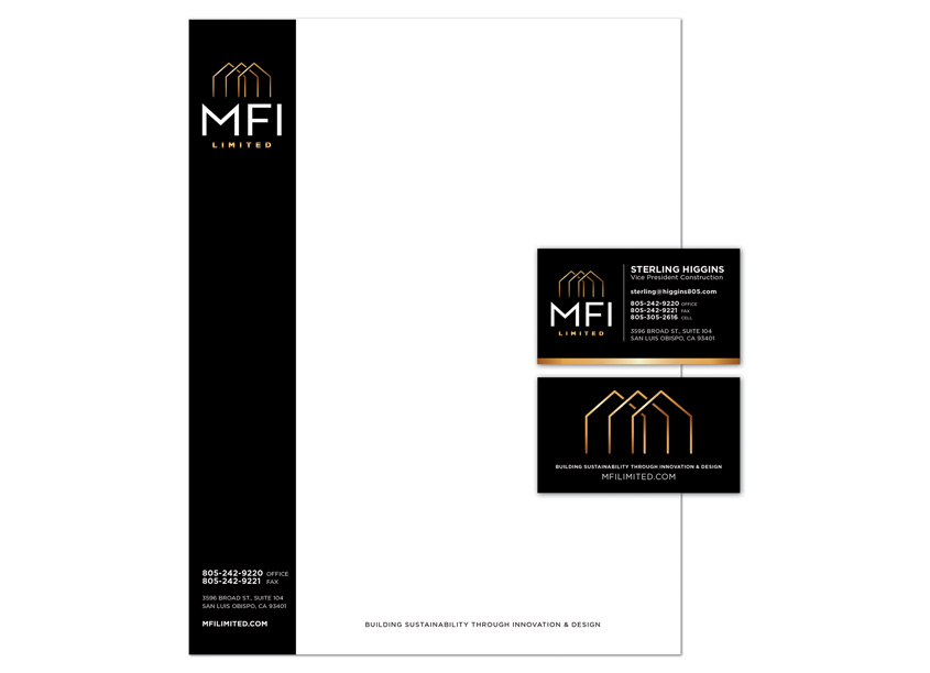 MFI Limited Stationery Set by HB Design
