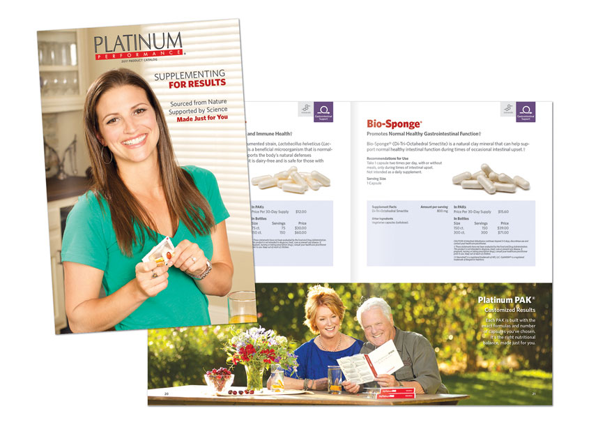 Platinum Human Products Catalog by HB Design