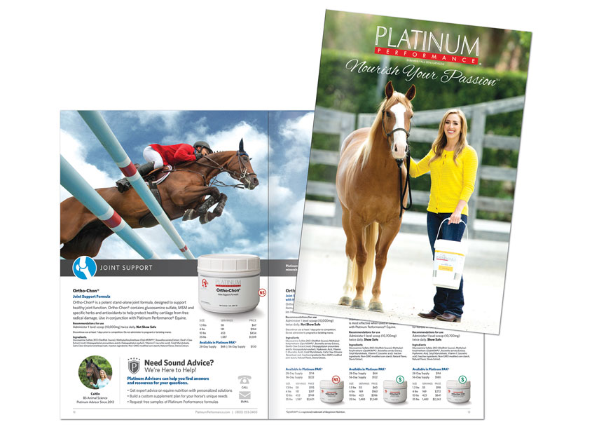 Platinum Equine Products Catalog by HB Design