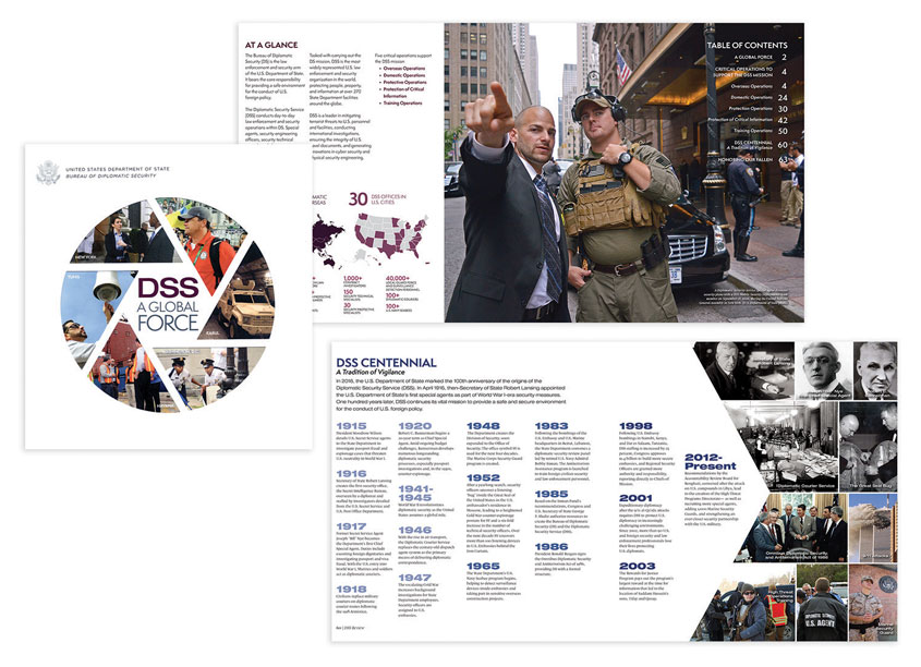 Diplomatic Security Public Affairs/U.S. Department of State  DSS A Global Force - Diplomatic Security Service 2016 Review
