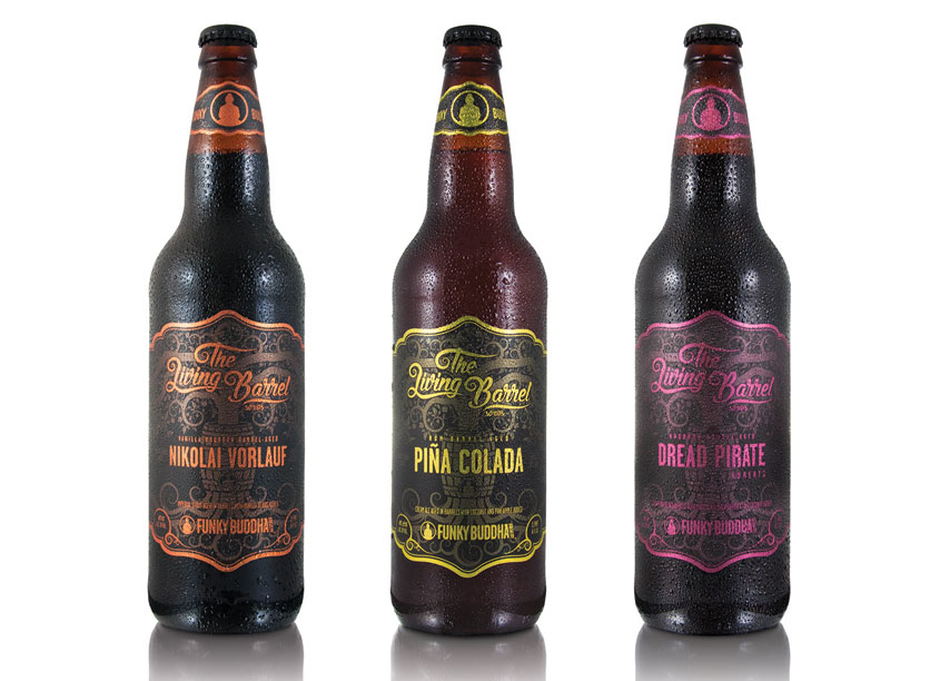 The Living Barrel Series by Funky Buddha Brewery