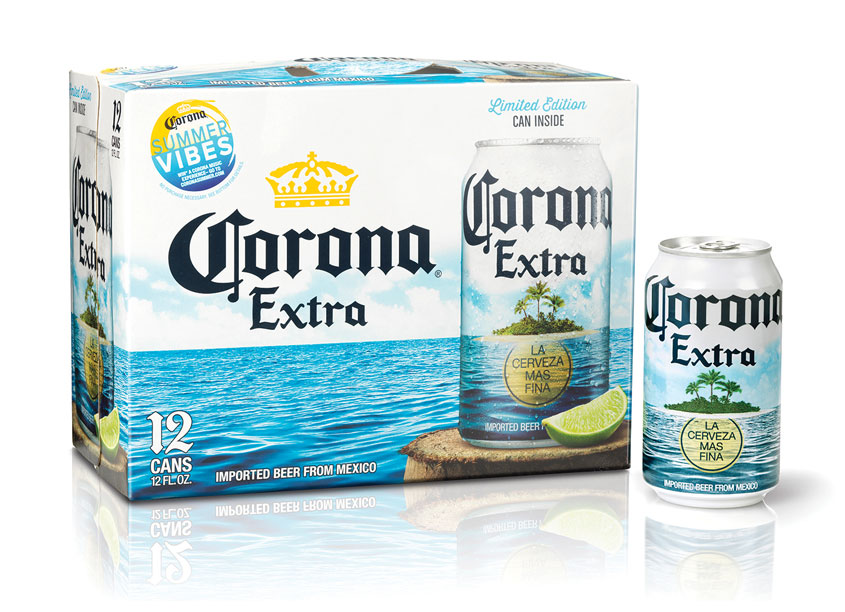 Corona Summer Packaging by Interbrand