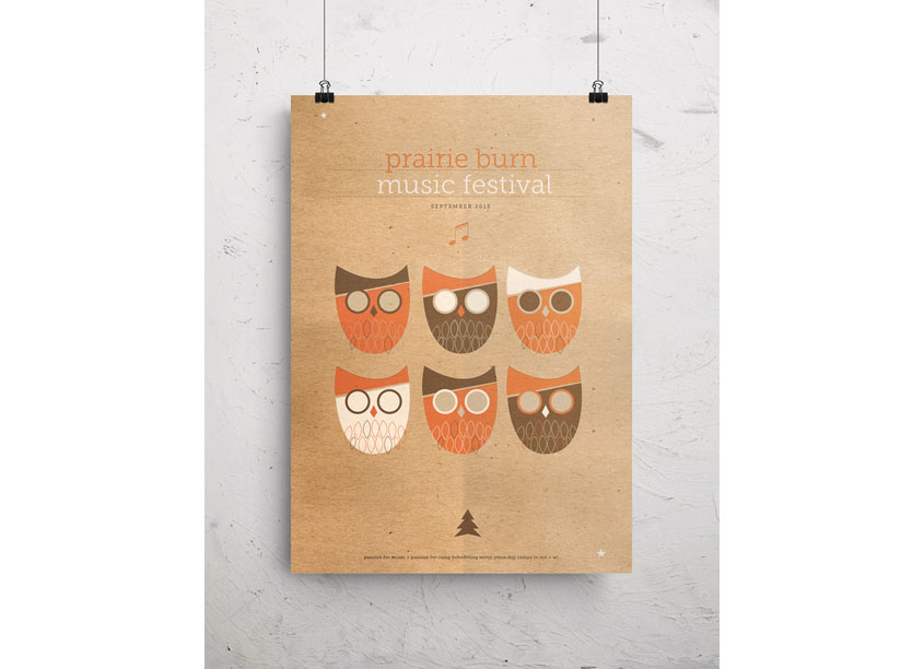 Anniversary Owl Art Print by Christiansen Creative