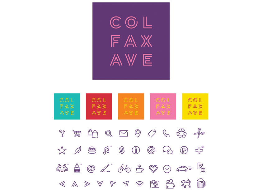 Colfax Ave Identity by ArtHouse Design