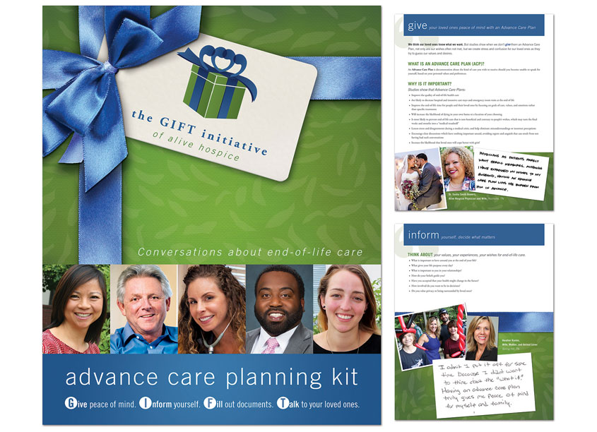 Alive Hospice  The GIFT Initiative of Alive Hospice, Advance Care Planning Kit