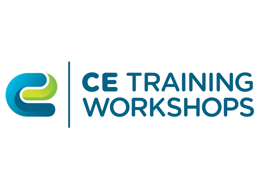 CE Training Workshops Logo Design by Built Creative