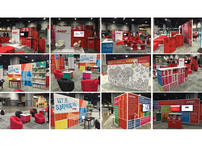 AARP Brand Creative Services  AARP Events | 2016 AARP National Book Fair Booth