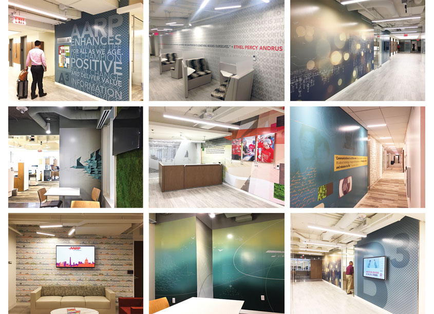 AARP | 2017 Headquarters Renovation Rebrand by AARP Brand Creative Services